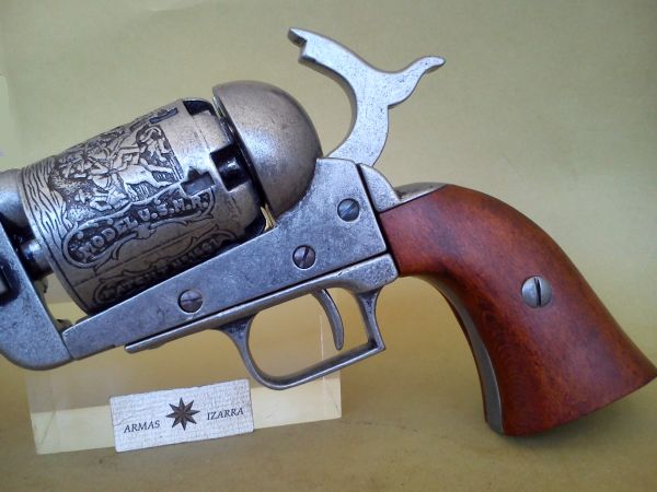 COLT MOD 1848 DRAGOON, MODEL N 2,DENIX REPLICA - Armas