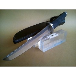 TACTICAL KNIFE TANTO,RUBBER HANDLE