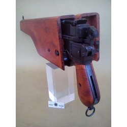 MAUSER C96 WITH WOOD STOCK,DENIX REPLICA